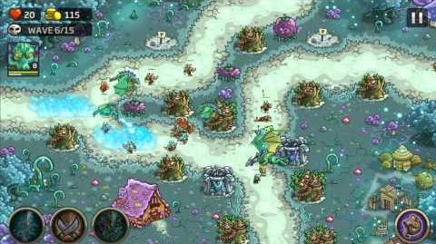 Kingdom Rush Origins Gameplay Grimmsburg Veteran 3 Stars
