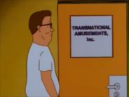 Hank enters Grant's Place