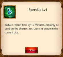 Speedup Level 1