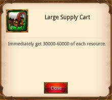 Large Supply Cart