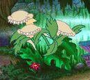 Three-Headed Carniverous Plant