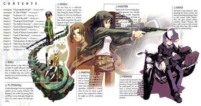 File:Kino no Tabi characters.jpg