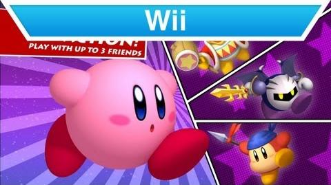 Wii - Kirby's Return to Dream Land Trailer