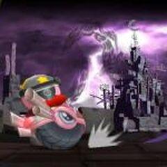Kirby y un <a href=