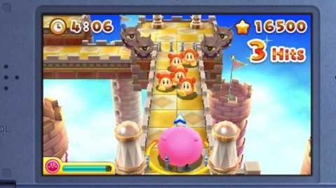 Presentación de Kirby's Blowout Blast en el Nintendo Direct.