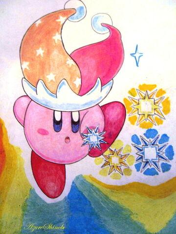 Archivo:Beam Kirby by AzureShinobi.jpg