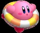KRTDL Artwork Kirby Nadando