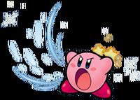 Kirby inhalando (KSSU)