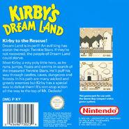 Kirby's Dream Land covertura