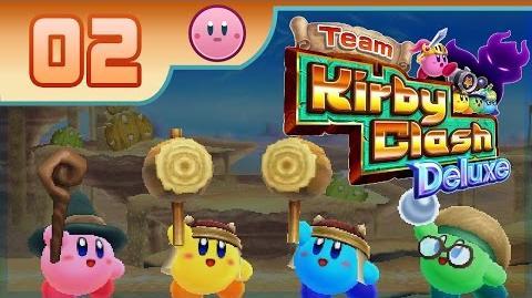 Team Kirby Clash Deluxe - Part 2- Freakin' Kracko! ~ HUGE DIFFICULTY SPIKE! ~