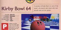 Kirby Bowl 64