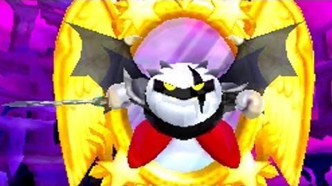 Kirby Triple Deluxe 3DS - Dark Meta Knight's Revenge Boss Battle HD-0
