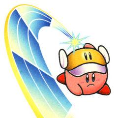 Arte de Kirby Cuchillo en <a href=
