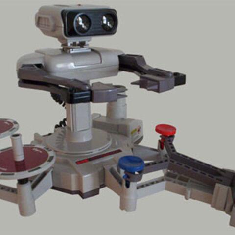 La maquina de R.O.B para NES