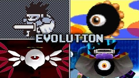 Evolution of Dark Matter Battles in Kirby games (1995 - 2016)