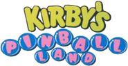 Kirby's Pinball Land logo