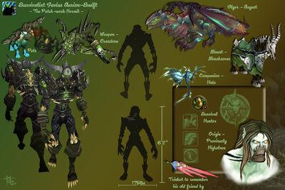 Favius - Character Sheet