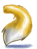Kitsune tail golden collection