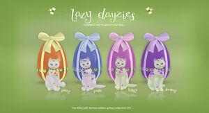 Kittycats-lazy-dayzies-poster