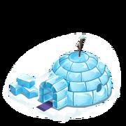 Loc snow igloo last