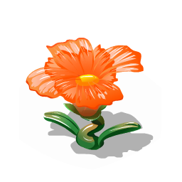 File:Glass flower orange premium last.png