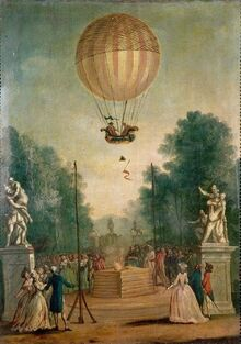 18th c Balloon