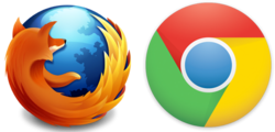 Browser Firefox or Chrome