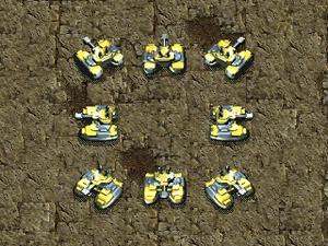 KKnD2 Ingame Tankbot
