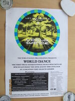 World dance 89 flyer