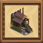Steelworks framed