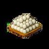 Chicken egg tray
