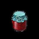 Sweet raspberry jam