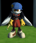 Klonoa (Red Collar Outfit) (Wii DtP)