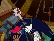 Count Spankulot spanking at Numbuh Five