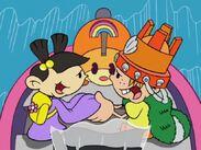 Mushi loves King Sandy