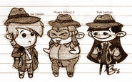 Chibi Detectives - KND