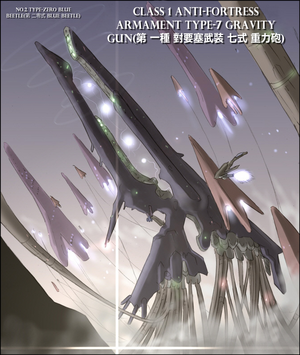 Blue Beetle Type Beast Gravity Gun