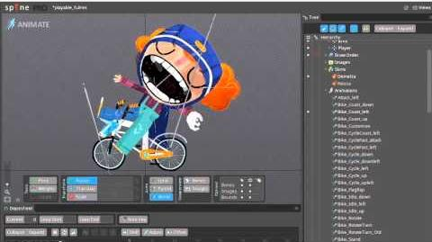 Behind the Scenes - Bikes