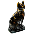Coll terrible black cat