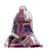Lady armor and weaponry