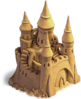 Sand castle big