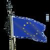 Flag deco european union