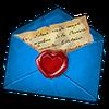 Hint letter blue