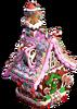 Gingerbread house sweet kingdom