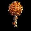 Res orange tree round