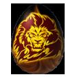 Coll fire lion
