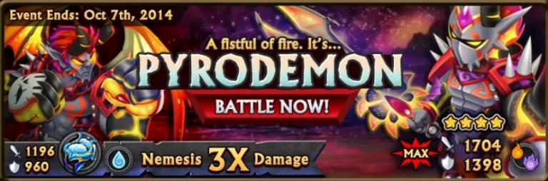 Pyrodemon Banner