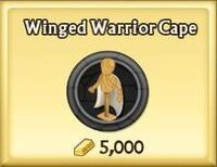 Winged Warrior Cape
