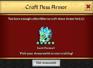 Epoch Platemail New Armor Unlock