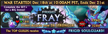 Frigid Frays